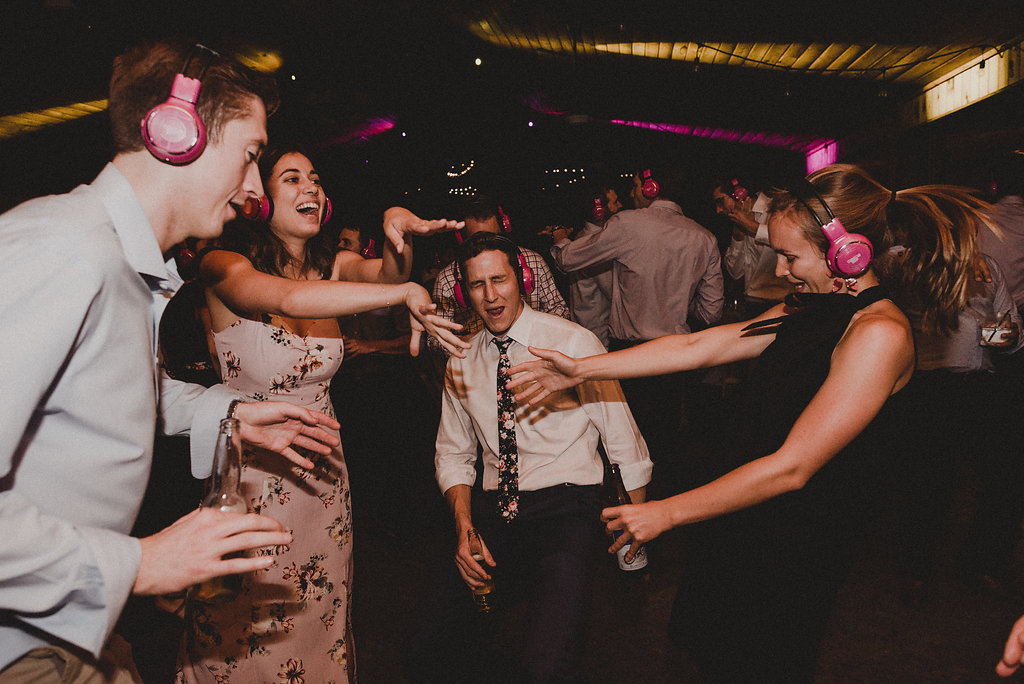 Silent Disco Wedding