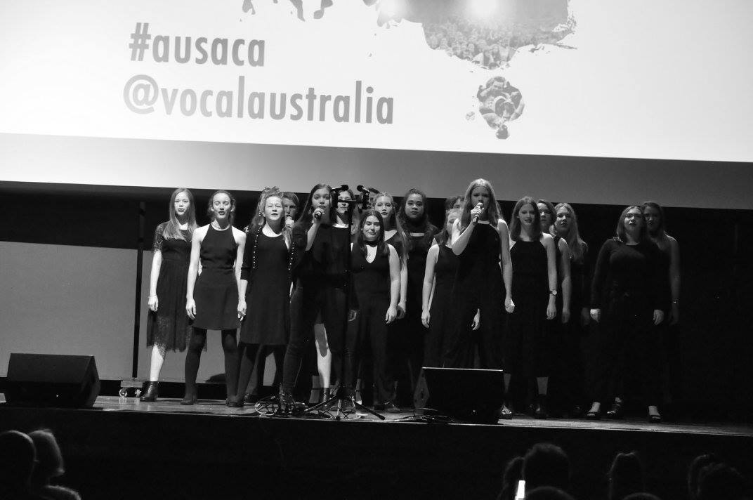 Centenary State High School's Vocal Ensemble are the school's advanced choral group, and were the only State school across the country to gain a place in the AUSACA 2016 Secondary School Championship Finals.