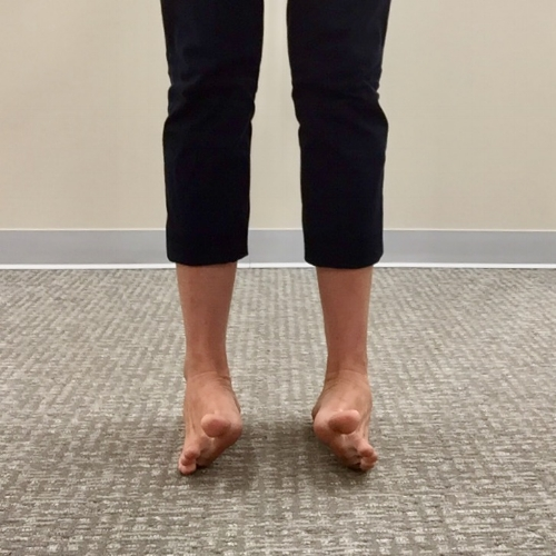chiropractic foot drills inversion