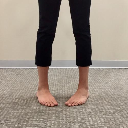 chiropractic foot drills toe-in
