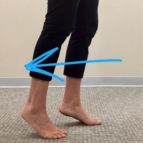 chiropractic foot drills toe walk