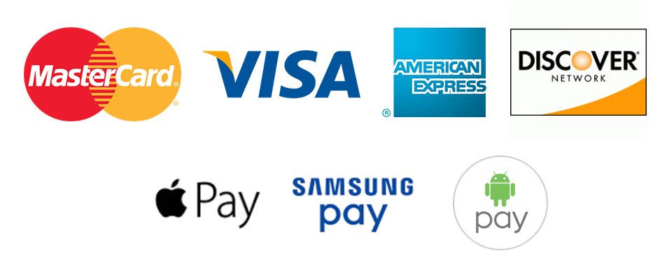 Credit card and mobile payments accepted