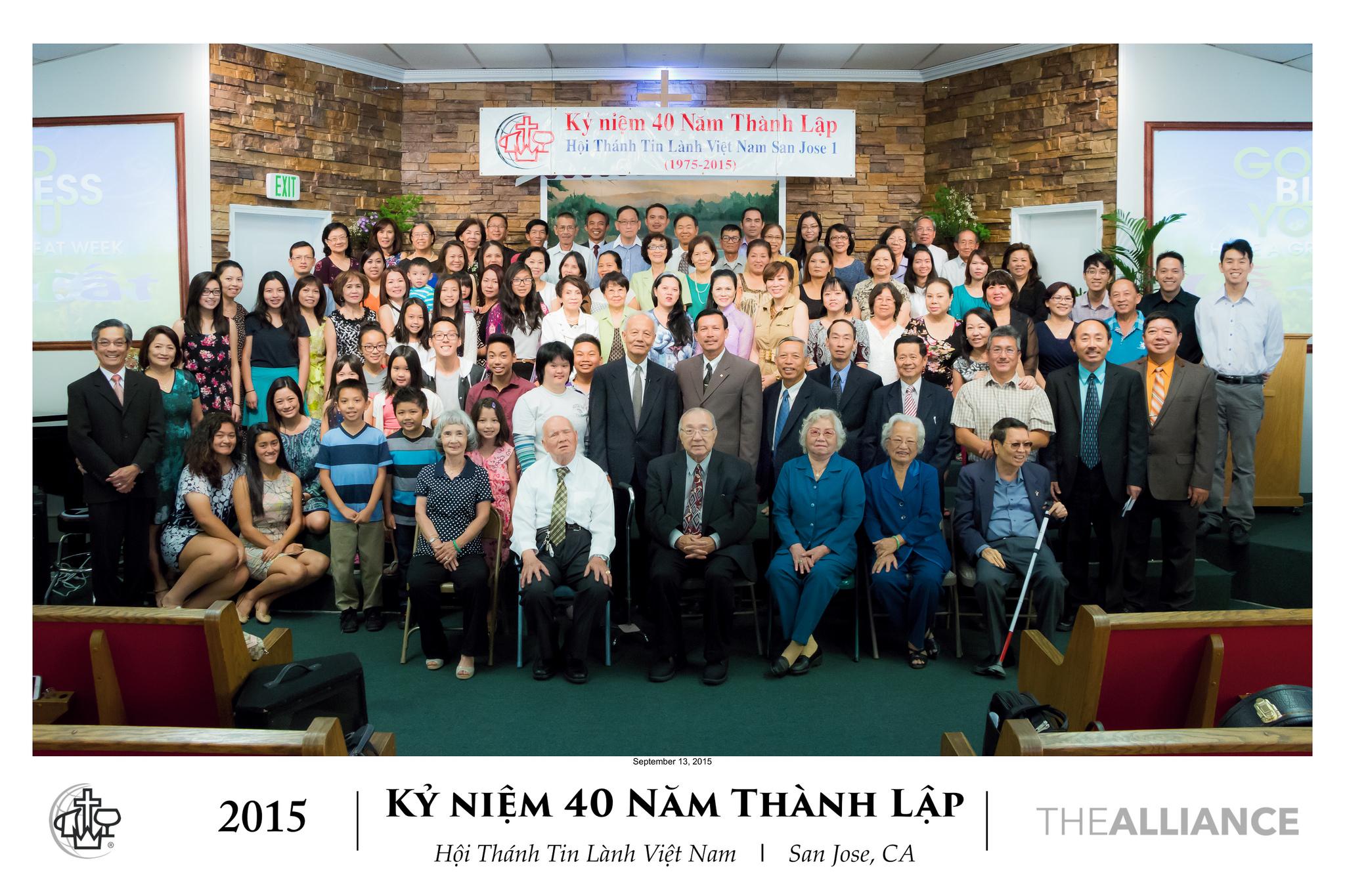 40th Year Anniversary 2015