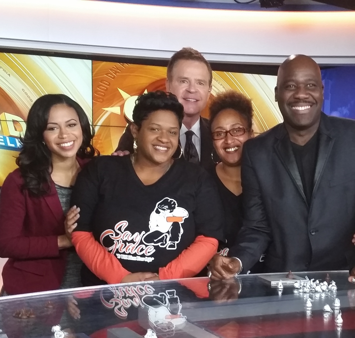 Fox 29 with Mike & Alley and Guest Will Downing