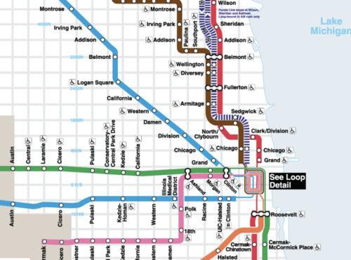 Chicago RTA // Maps + Signs