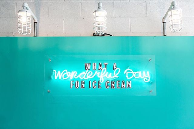 Isn't every day?!🍦🍦 #tworoosters #sundayscoop