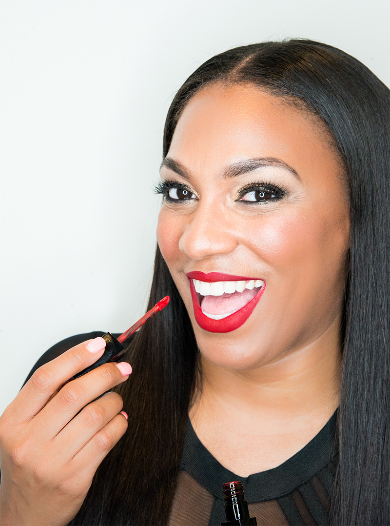 Sparkle Chanel Lockett  Founder | CEO   MakeUp By Sparkle