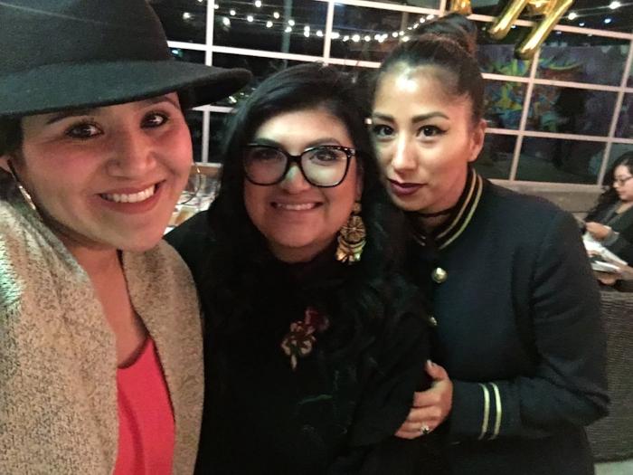 Myself, Paulina & Melissa.