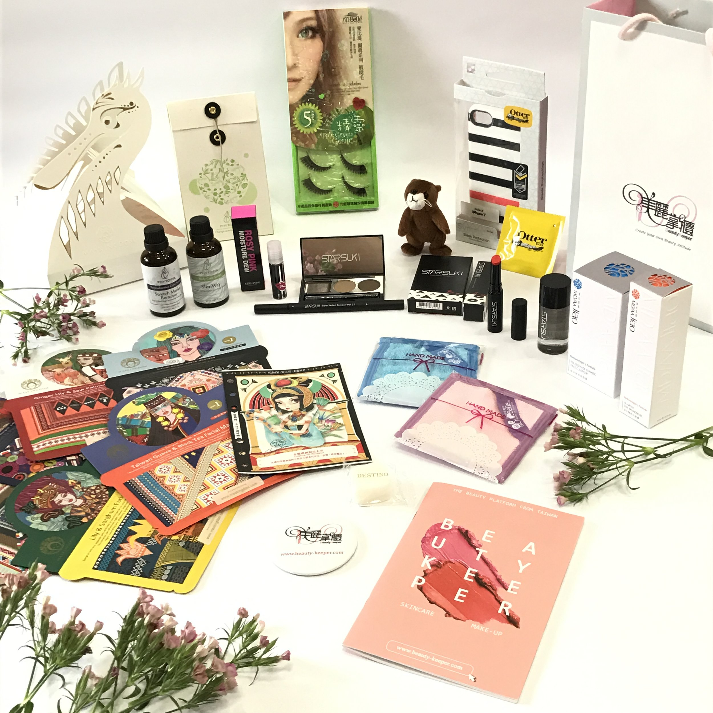 Combine Goodies I got from Beauty-Keeper Events at Punggol Waterway Blogger's Party &The Shoppes at Marina Bay Sands.