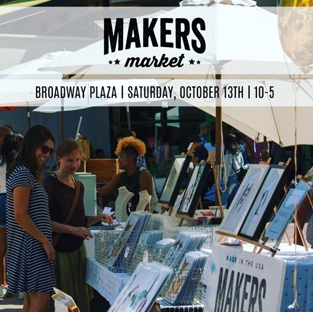 We will be in Walnut Creek today @makersmarket selling @mbukiibags!! Stop by and say hi 👋!