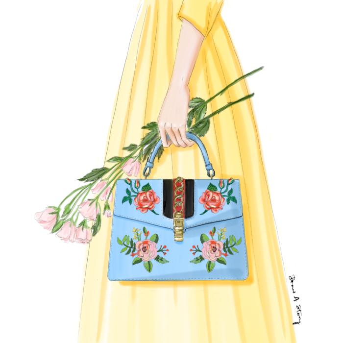 Gucci flower bag