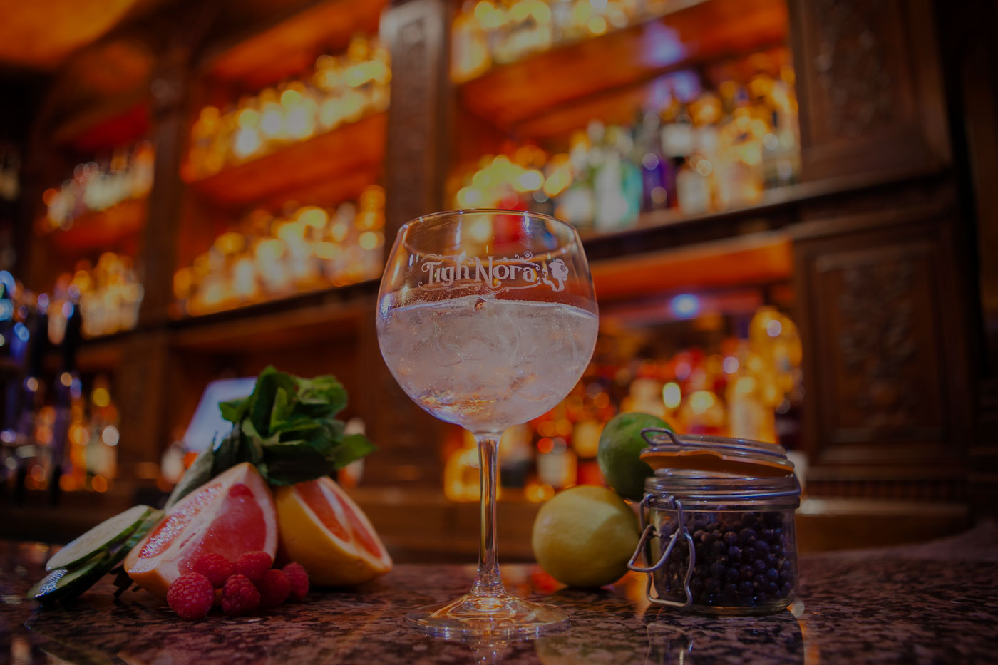 Welcome to Tigh Nora, Galway's New Gin Bar opening Friday 10th March 2017!