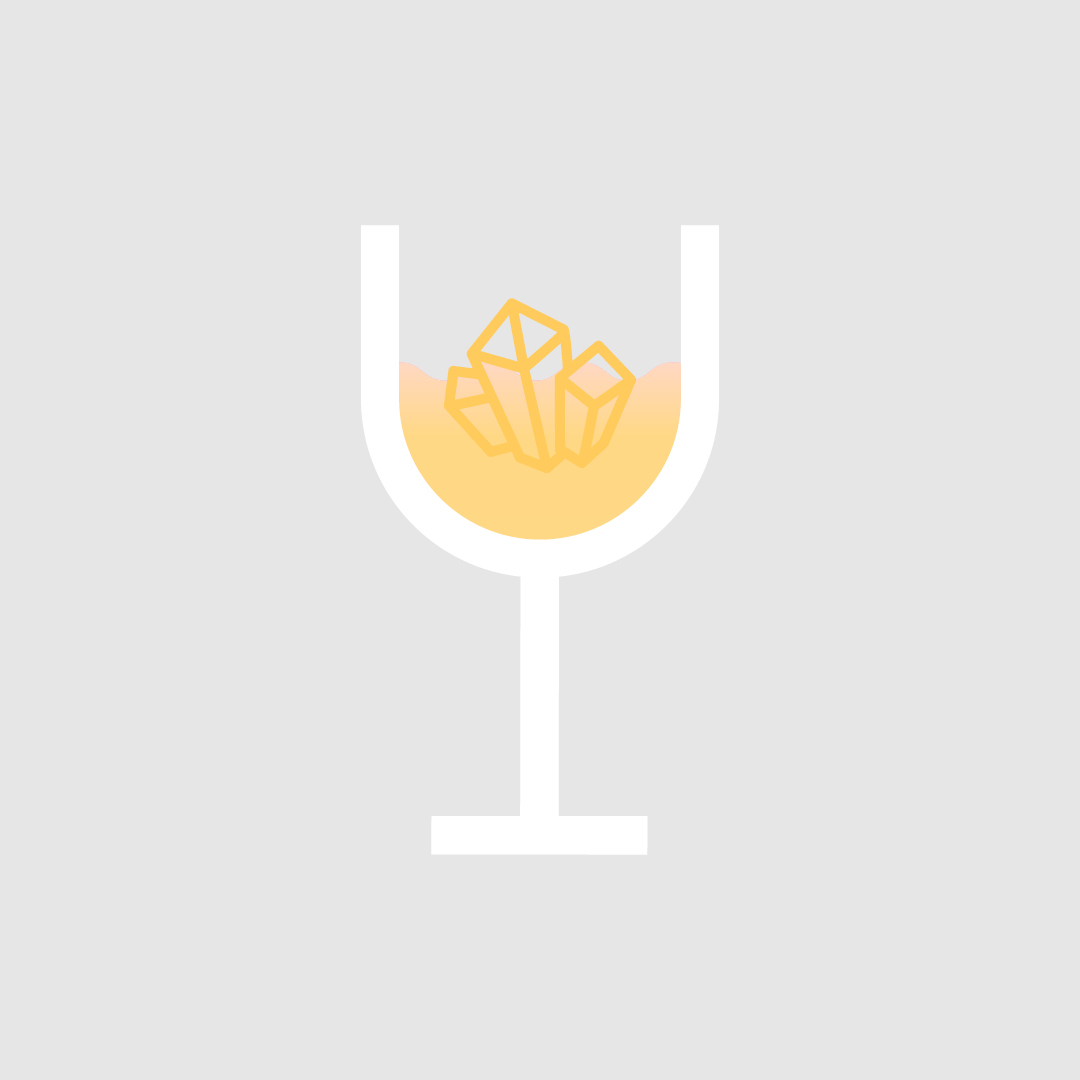 (5) Minerals - These often impact in the taste of the wine, giving a savoury or even salty taste. Wines like Muscadet or Chablis are good examples in which to find plenty of minerals.