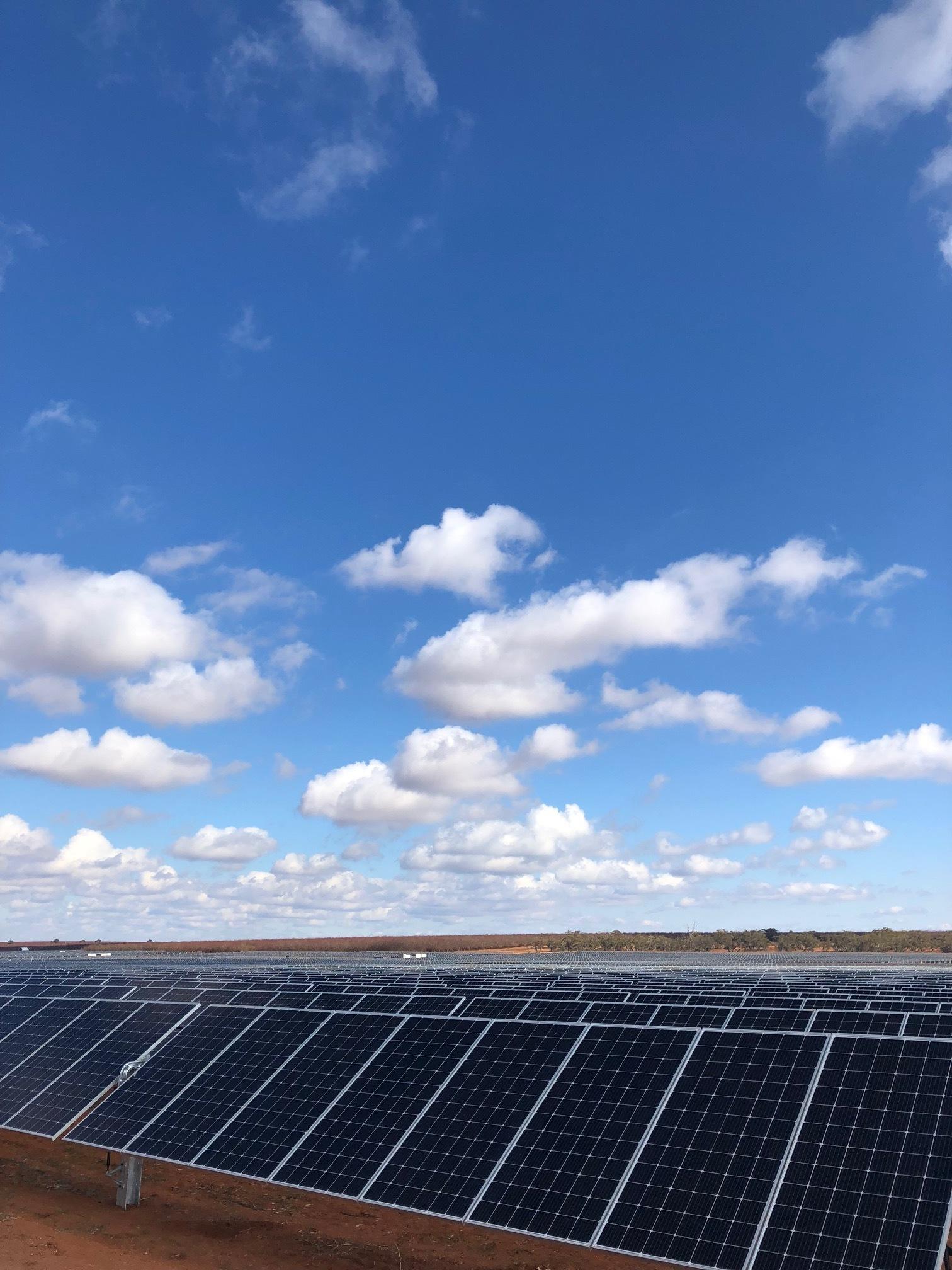 mildura solar farm, victoria - 100MW Solar Farm