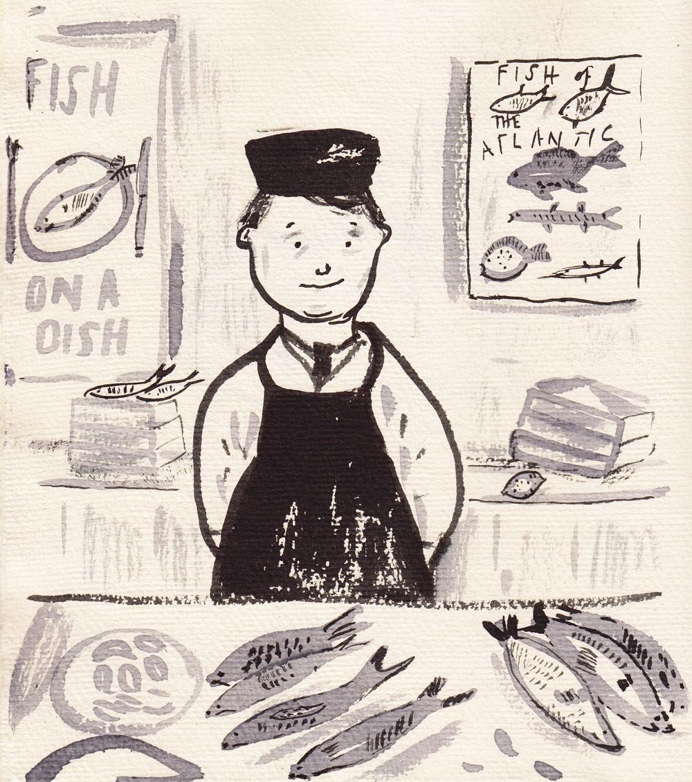 Fishmonger Boy