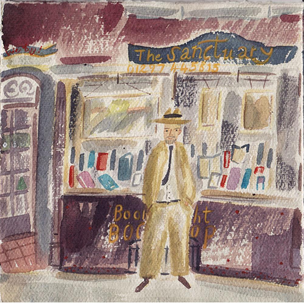 The Sanctuary Book Shop, Lyme Regis