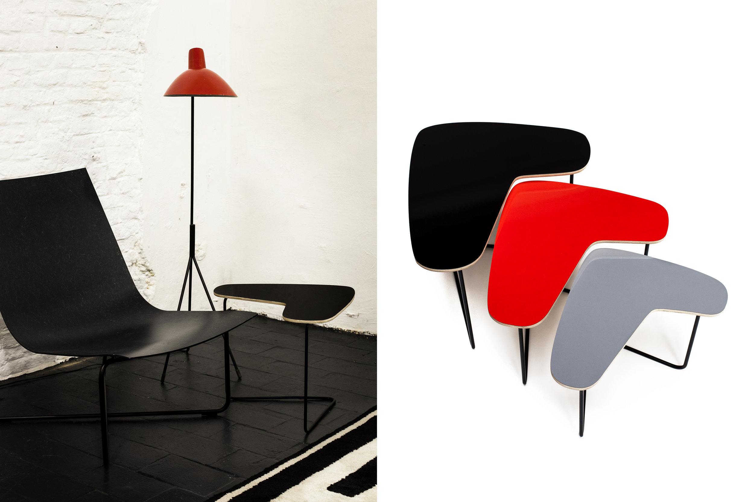 Architect Willy Van Der Meeren Boomerang T3 set  Client:lostNfound