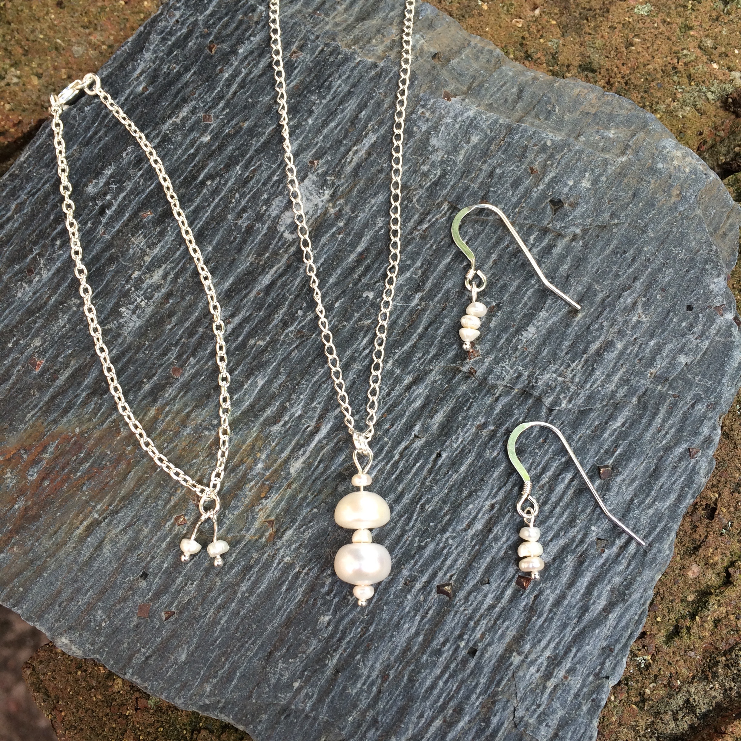 Commissioned jewellery by Penelope