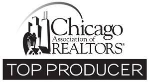 2010 - 2017 Chicago Association of Realtors Top Producer    2016 Top Producer Rolex Club, @properties    Top Agent Network