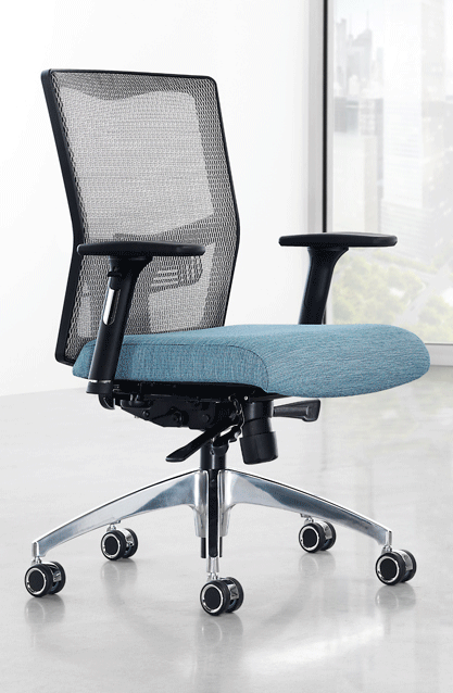 The Joy Task Chair is both stylish and highly adjustable.