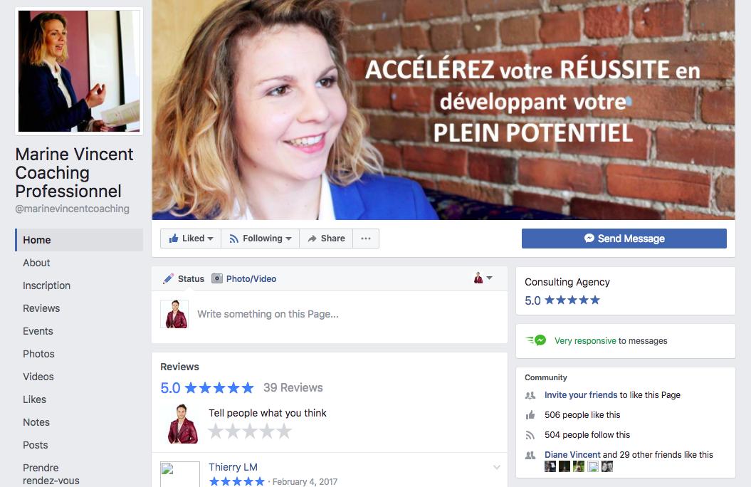Êtes-vous abonnéà mon groupe Facebook? - Je partage chaque semaine ma sélection exclusive de lectures, photos, vidéos et citations inspirantes pour vous permettre d'atteindre vos objectifs professionnels et personnels!