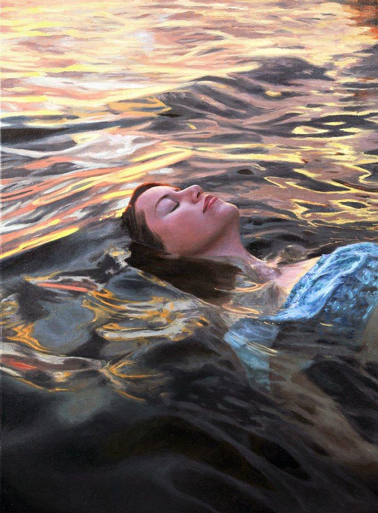 painting by  Lena Danya