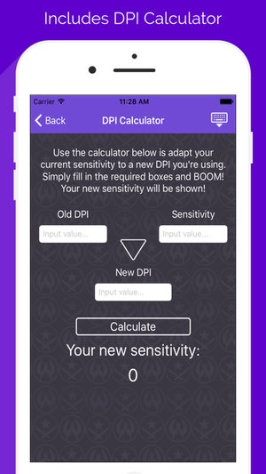 Dpi calculator sensitivity