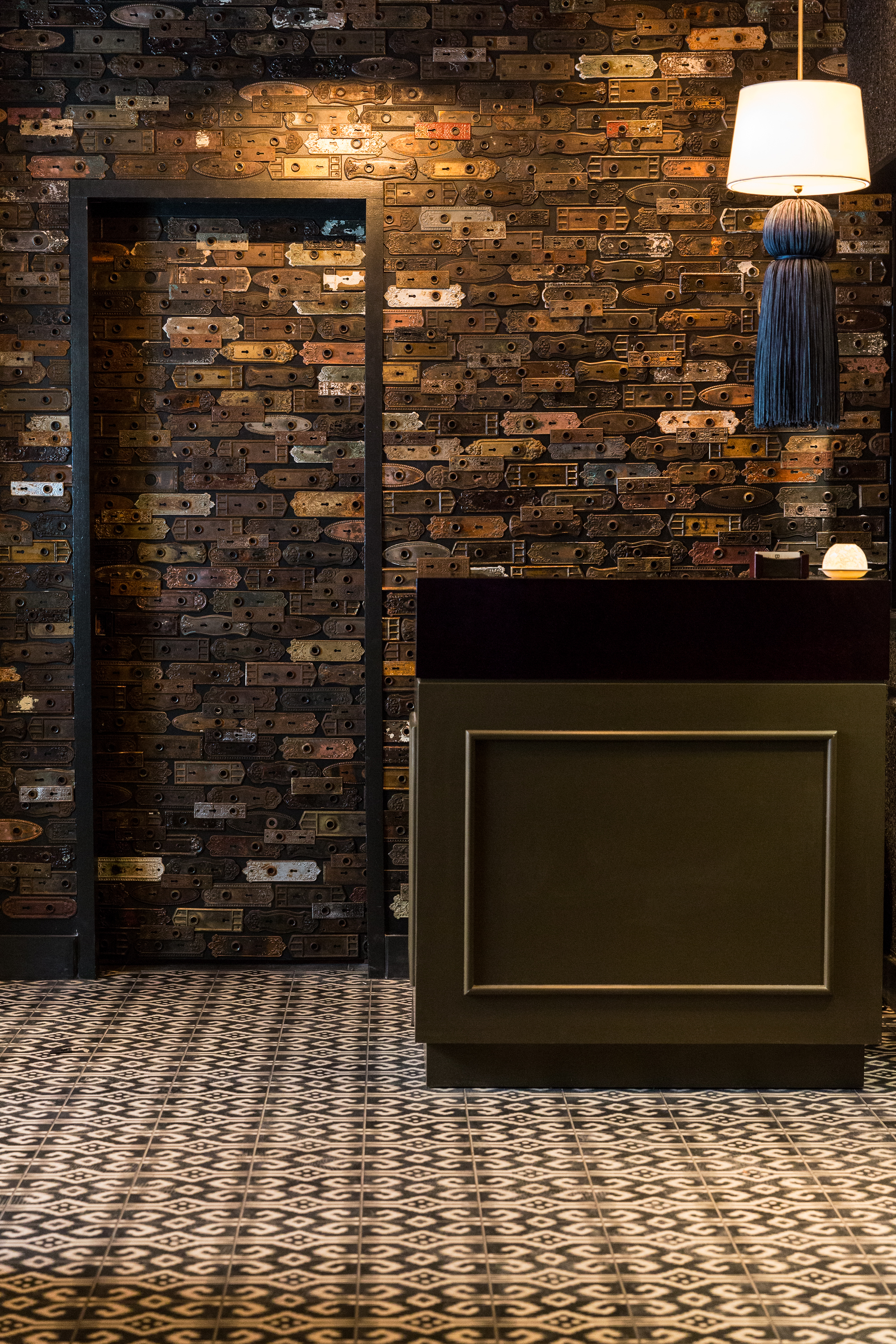 THE HOST STAND AT BOKA
