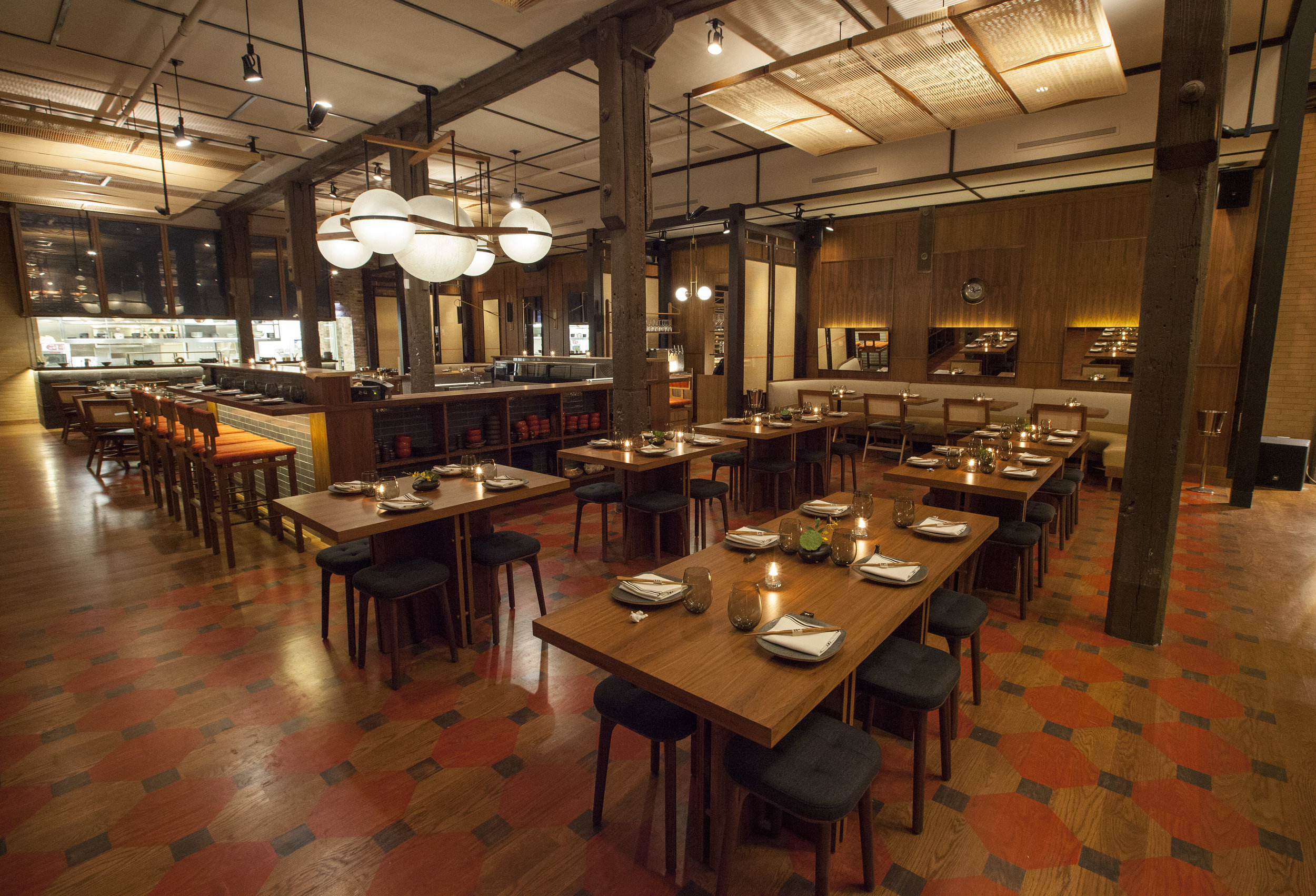 MAIN DINING | 100 seated, 200 cocktail