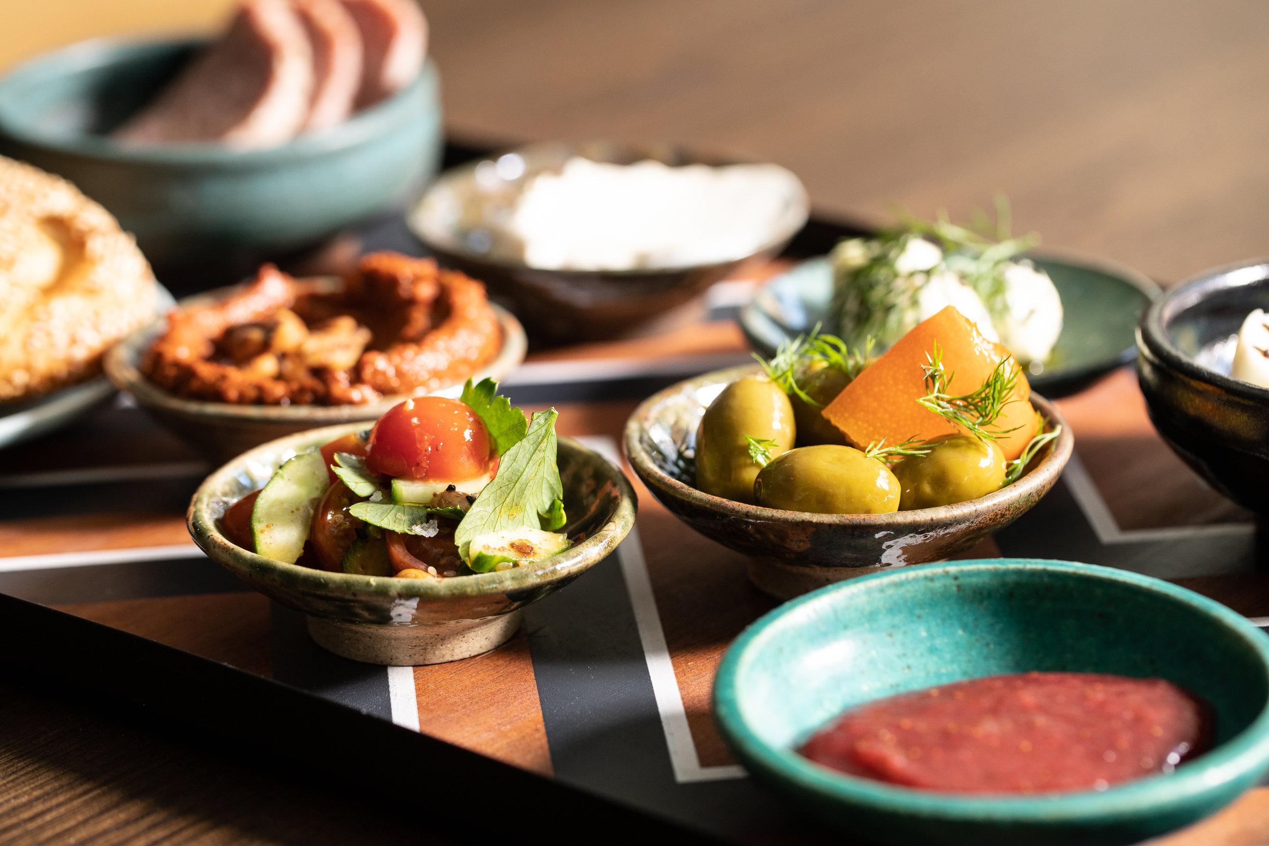 Cira food-mezze spread-olives-small plates-GALDOPHOTO Hoxton_26Mar2019_HG0013.jpg