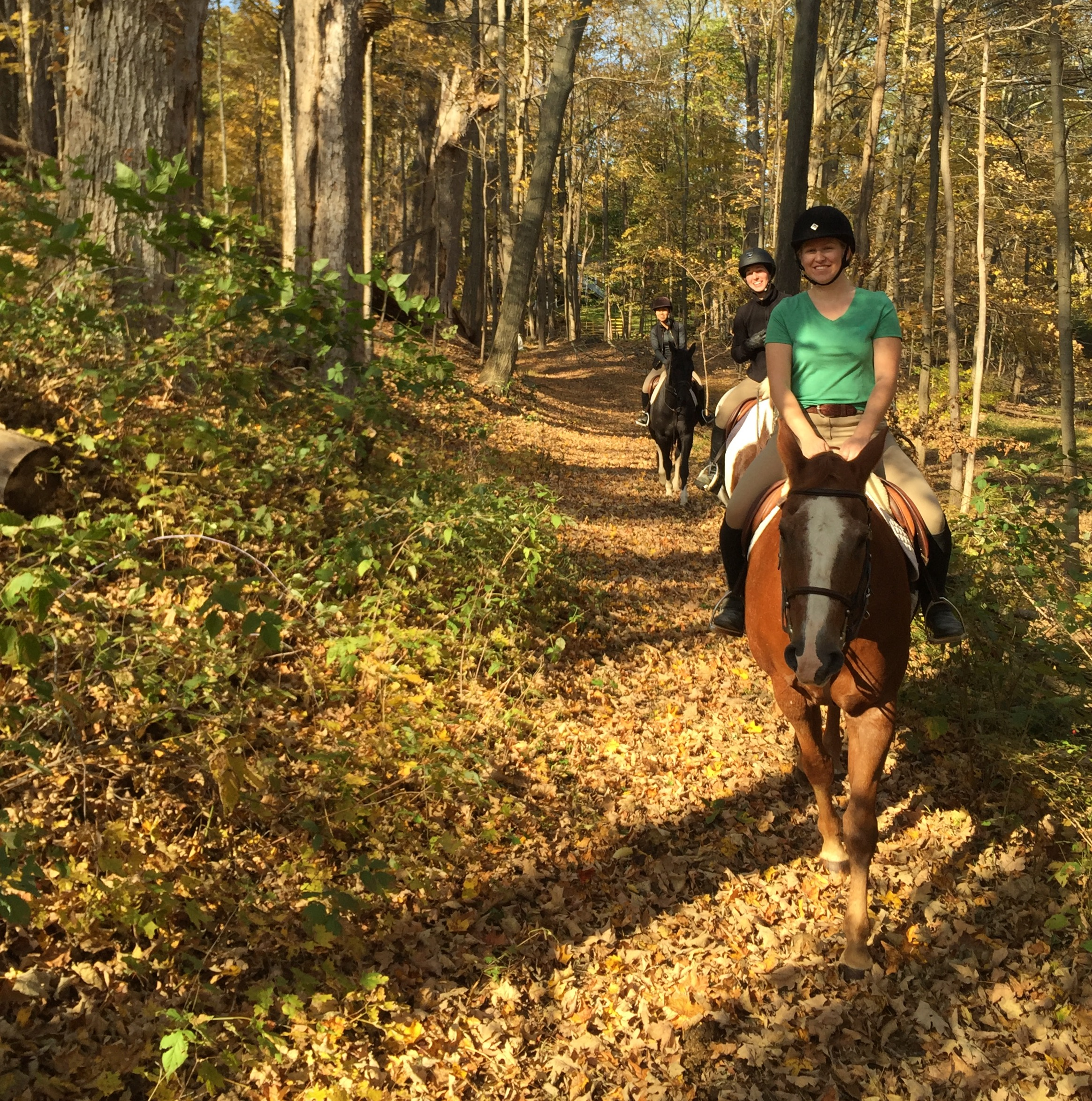 Trail Riding in Fall
