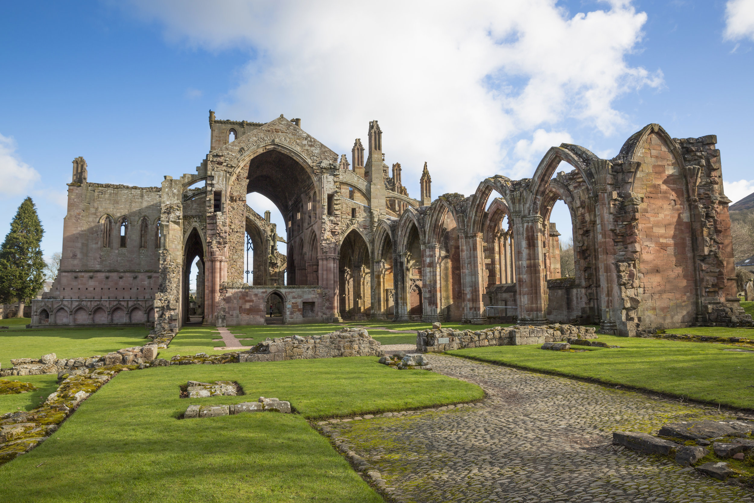 Melrose Abbey, Copyright VisitScotland / Kenny Lam