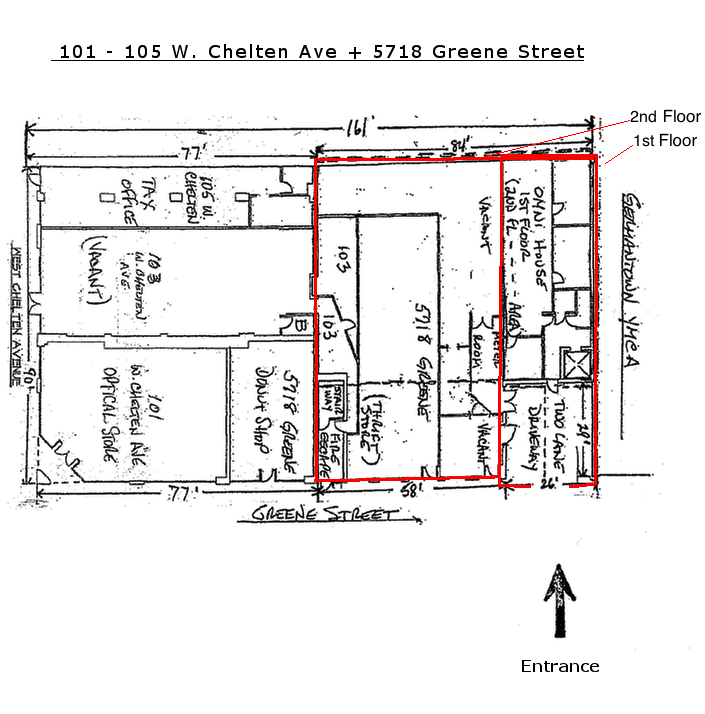 5718 Greene St - Site Plan