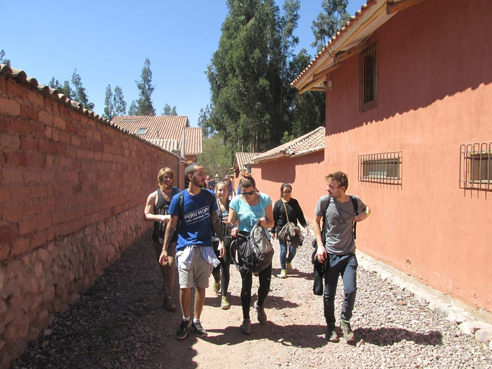 Heading along past local villages in the Sacred Valley.jpg