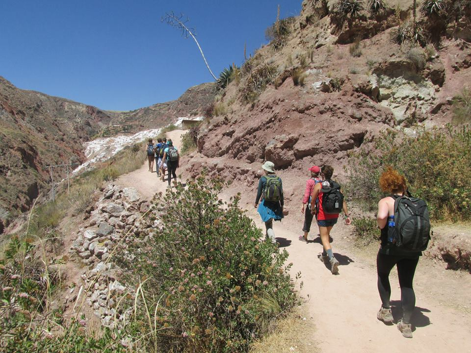 Trail up to the Salt terraces from the Sacred Valley.jpg