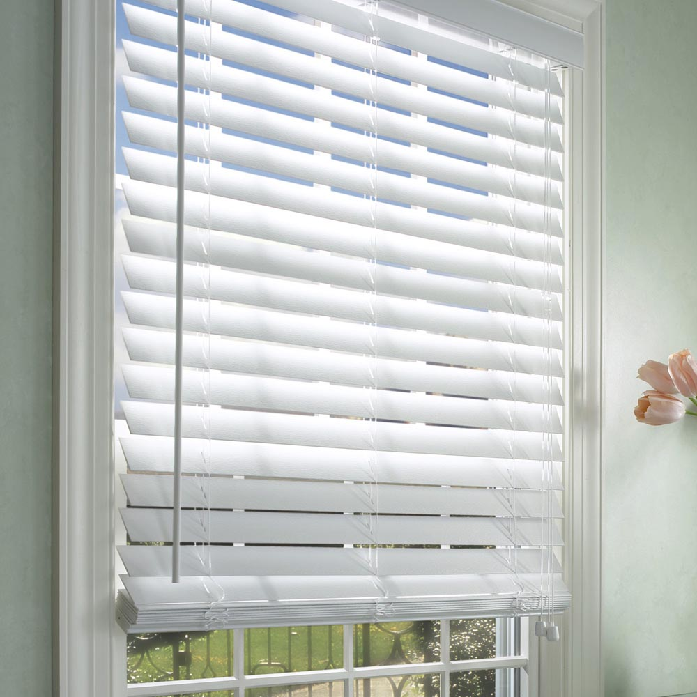 Two Inch Faux Wood Blind
