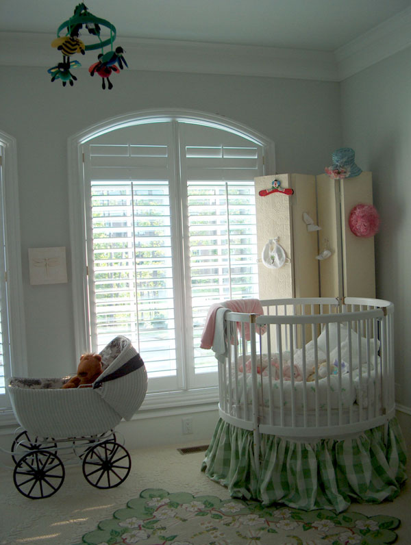 Plantation Shutters Door and Arch