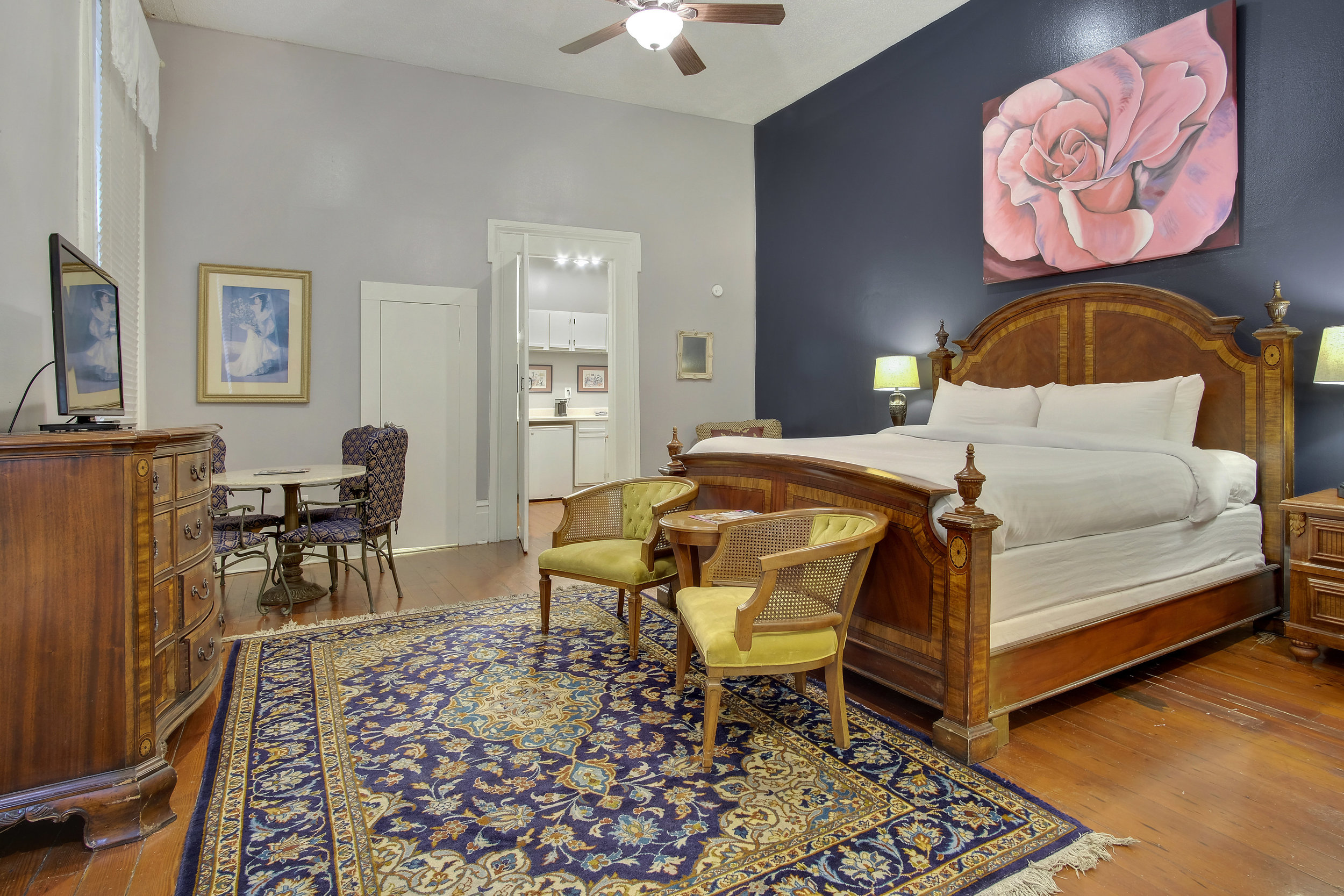 superior King - rathbone mansions hotel new orleans