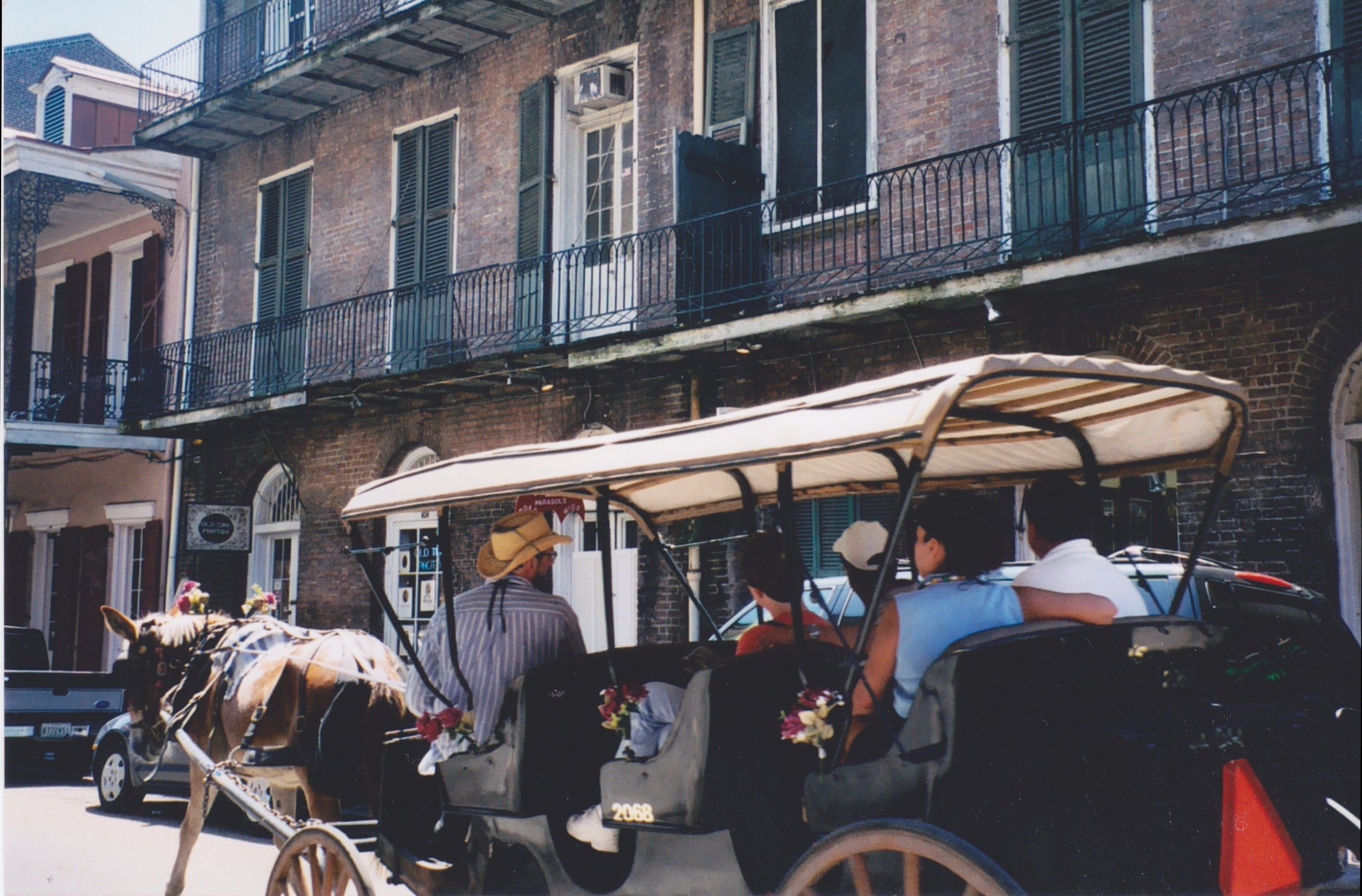 The French Quarter – where    A Streetcar Named Desire  took place – in the stage play and the movie