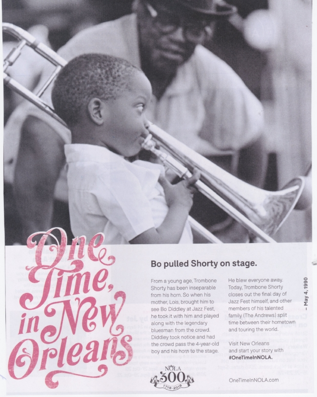 New Orleans loves the younger set. Take a look at this ad that features a four-year-old (it appeared in    AFAR  magazine's July/August 2018 issue). We think the same way – so feel free to stay at the  Rathbone Mansions  when you pay a visit to The Big Easy.