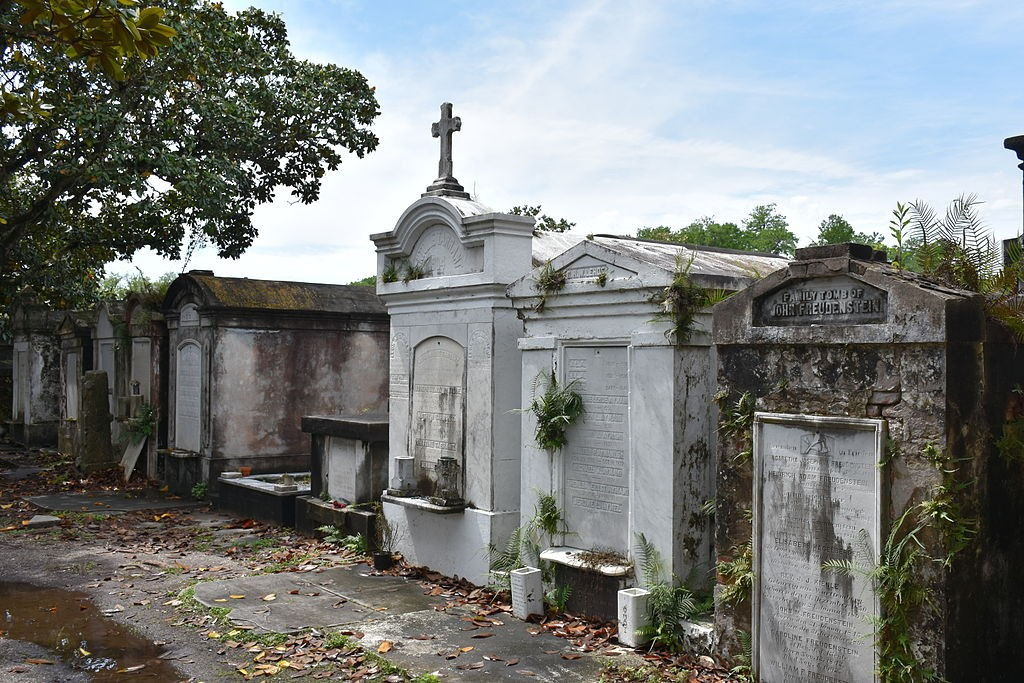 Lafayette Cemetery #1 in the Garden District of New Orleans