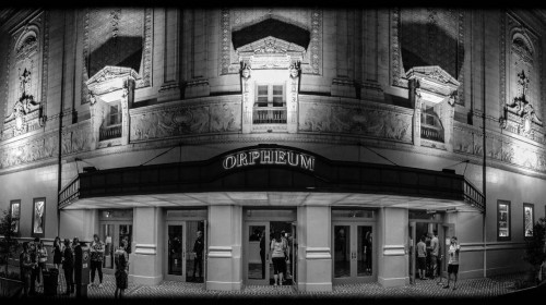 The Orpheum Theater where the Ponderosa Stomp is often held