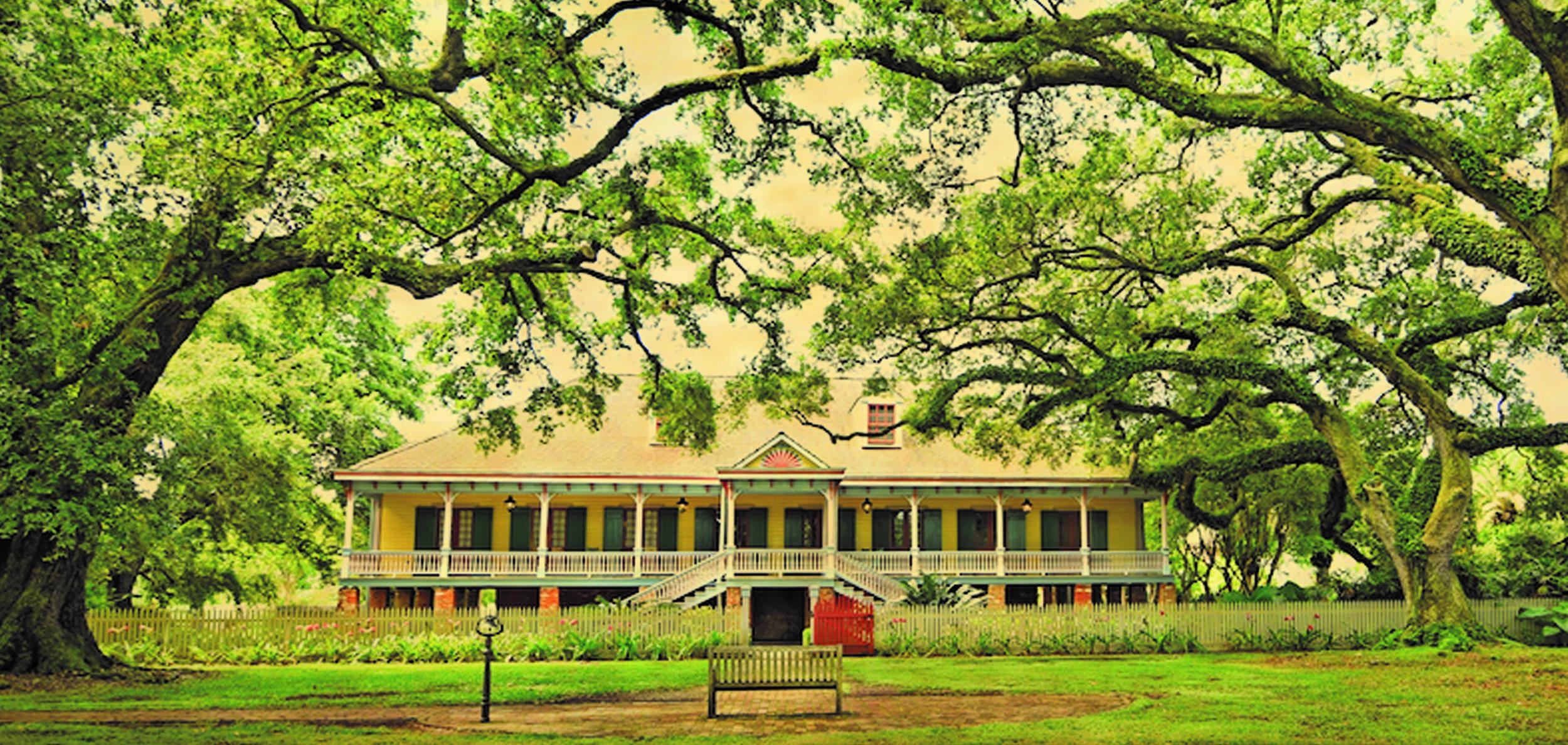 The Big House at the Laura Plantation