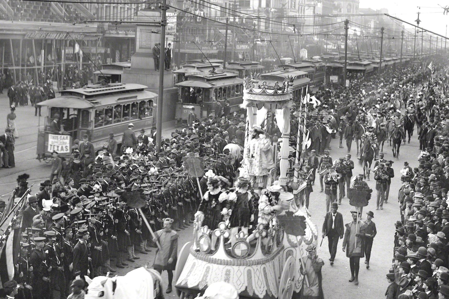 Mardi Gras Feb. 27th, 1900