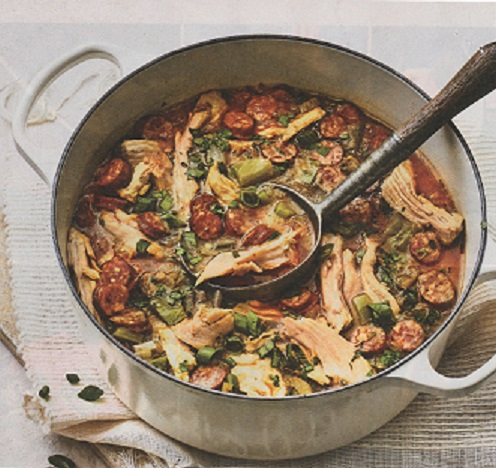Smoked Turkey and Andouille Gumbo: Beau Beaullieu and Andy Soileau's team has taken first place 11 times at this cook-off. They won in 2015, 2017 and 2018. Photo courtesy of  Southern Living