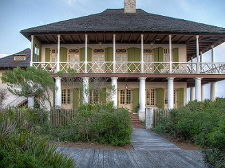 Home of James Pitot, who was first mayor of incorporated City of New Orleans