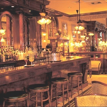 The glam French 75 bar on Bienville Street in New Orleans