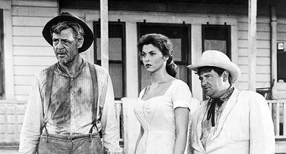 God's Little Acre with Robert Ryan, Tina Louise and Buddy Hackett – a 1958 movie based on Erskine Caldwell's best-selling book