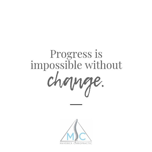 One reason people resist change is because they focus on what they have to give up instead of what they have to gain. ⠀⠀⠀⠀⠀⠀⠀⠀ Chiropractic can bring a positive & healthy change not just physically but mentally as well. Help your body feel it's best & start today! Make an appointment through the link in the bio above!