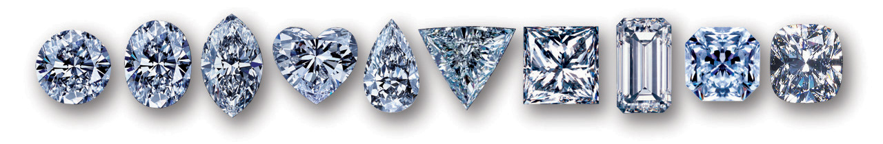 Different diamond cuts available in portland or